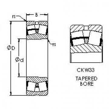 AST 23036CKW33 spherical roller bearings