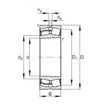 170 mm x 260 mm x 90 mm  FAG 24034-E1-K30 spherical roller bearings