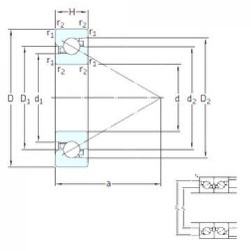 17 mm x 40 mm x 12 mm  SNFA BS 217 7P62U thrust ball bearings