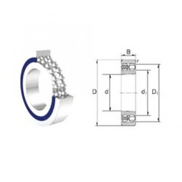 17 mm x 40 mm x 12 mm  ZEN S1203-2RS self aligning ball bearings