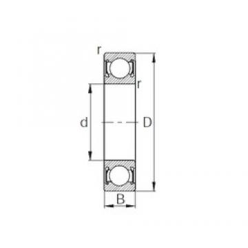 110 mm x 240 mm x 50 mm  CYSD 6322-2RS deep groove ball bearings