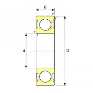 17 mm x 40 mm x 12 mm  ISB SS 6203-2RS deep groove ball bearings