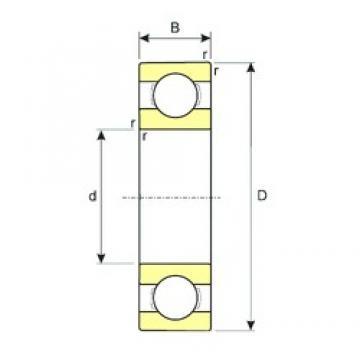17 mm x 40 mm x 12 mm  ISB SS 6203 deep groove ball bearings