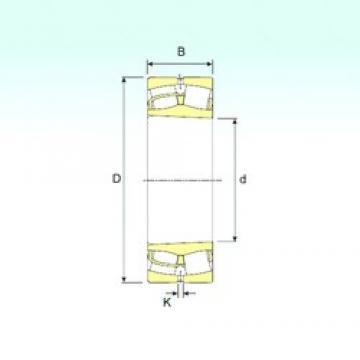 190 mm x 400 mm x 132 mm  ISB 22338 KVA spherical roller bearings