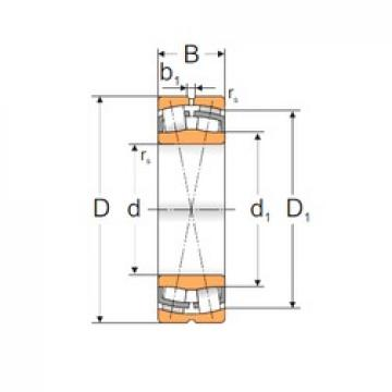 170 mm x 260 mm x 90 mm  Loyal 24034 MBW33 spherical roller bearings