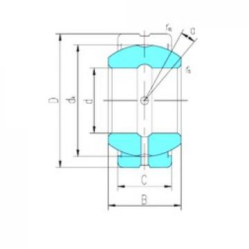 17 mm x 30 mm x 14 mm  LS GE17ES-2RS plain bearings