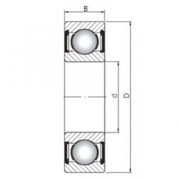 17 mm x 40 mm x 12 mm  Loyal 6203 ZZ deep groove ball bearings
