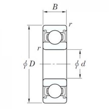 17 mm x 40 mm x 12 mm  KOYO SE 6203 ZZSTPR deep groove ball bearings