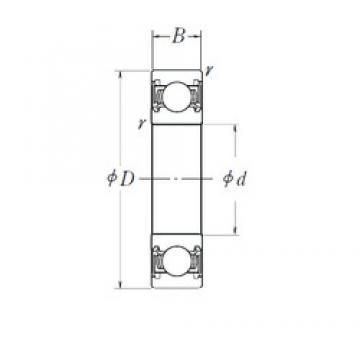 17 mm x 40 mm x 12 mm  SKF BB1-0623D deep groove ball bearings