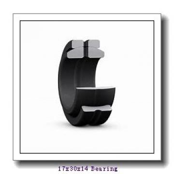 17 mm x 30 mm x 14 mm  IKO GE 17ES-2RS plain bearings