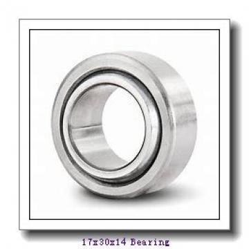17 mm x 30 mm x 14 mm  ISO GE17UK plain bearings