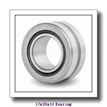 17 mm x 30 mm x 14 mm  Loyal GE 017 ES-2RS plain bearings