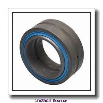 17 mm x 30 mm x 14 mm  ISO GE 017 ES plain bearings