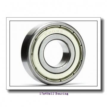 17 mm x 40 mm x 12 mm  KOYO 6203-2RD deep groove ball bearings