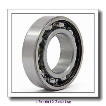 17 mm x 40 mm x 12 mm  ISB 6203 deep groove ball bearings