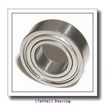 17 mm x 40 mm x 12 mm  KOYO NC6203 deep groove ball bearings