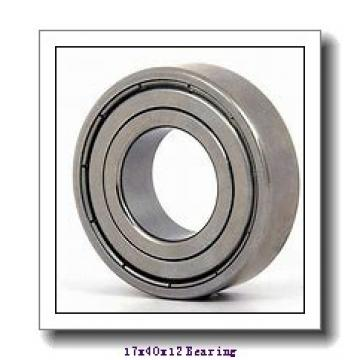 17 mm x 40 mm x 12 mm  NACHI 7203 angular contact ball bearings