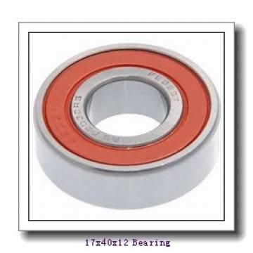 17 mm x 40 mm x 12 mm  ISO 7203 C angular contact ball bearings