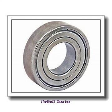 17 mm x 40 mm x 12 mm  KOYO 6203-2RU deep groove ball bearings