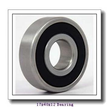17 mm x 40 mm x 12 mm  ZEN P6203-GB deep groove ball bearings