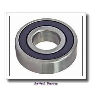 17 mm x 40 mm x 12 mm  NSK 6203T1XZZ deep groove ball bearings