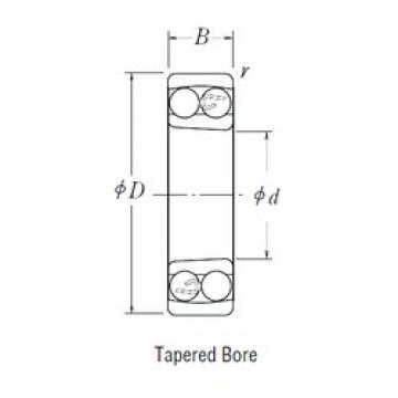 110 mm x 240 mm x 50 mm  NSK 1322 K self aligning ball bearings
