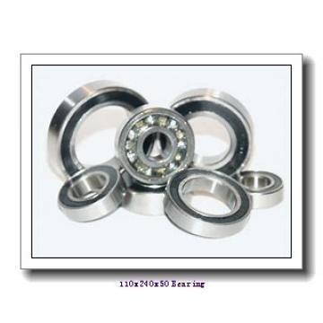 110 mm x 240 mm x 50 mm  NACHI 7322BDB angular contact ball bearings