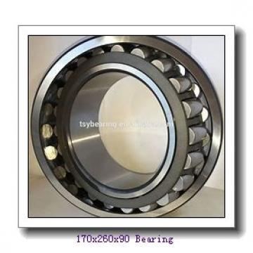 170 mm x 260 mm x 90 mm  NKE 24034-K30-MB-W33+AH24034 spherical roller bearings