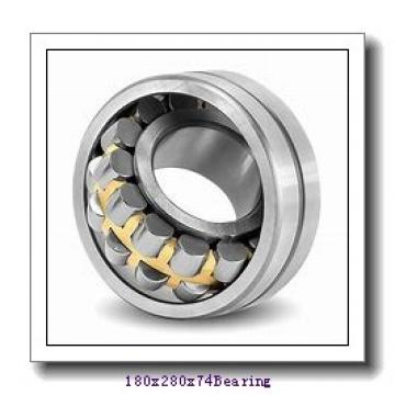 180 mm x 280 mm x 74 mm  ISO 23036 KCW33+H3036 spherical roller bearings