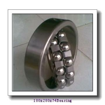 180 mm x 280 mm x 74 mm  Loyal 23036 KCW33 spherical roller bearings