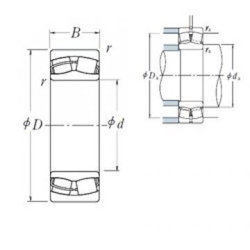 170 mm x 260 mm x 90 mm  NSK 24034CE4 spherical roller bearings