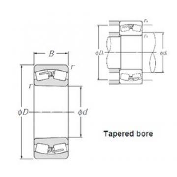 180 mm x 280 mm x 74 mm  NTN 23036BK spherical roller bearings