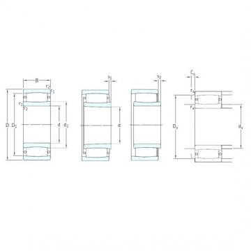 170 mm x 260 mm x 90 mm  SKF C4034K30V cylindrical roller bearings