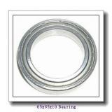65 mm x 85 mm x 10 mm  NACHI 6813Z deep groove ball bearings